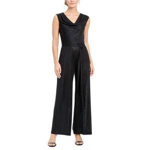 Connected Cowlneck Jumpsuit Size 12